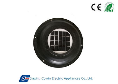 ABS Brush DC Motor Solar Powered Trailer Roof Vent Dengan 1W Solar Panel